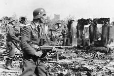 German Luftwaffe Troops Stalingrad Russia Oct 1942 World War 2, 6x4 Inch Reprint