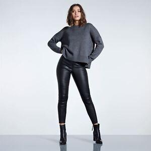 7dd7d31a5a Details about Womens Firetrap Blackseal Oversized Knitted Jumper Lined  Knitwear Long New
