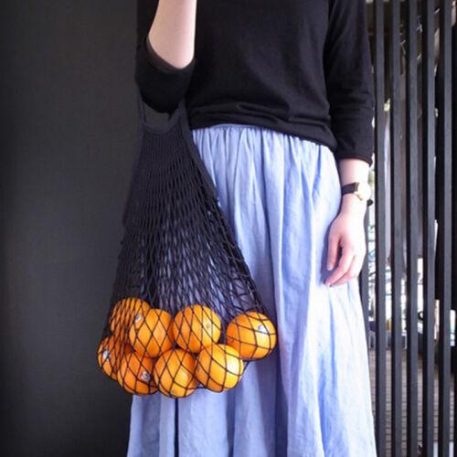 Fashion Net Turtle Bag String Shopping Bag Reusable Fruit Storage Handbag Totes