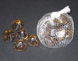 grosse-Glasnuggets-1-Beutel-metallfarben-Glassteine-ca-200g-Dekosteine-NEU