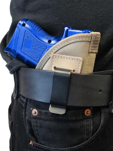 New Barsony Desert Sand Inside the Waistband Holster Compact 9mm 40 45 Pistols