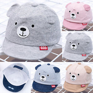 2bd0d701ec7a6 Image is loading Baby-Boys-Girls-Cartoon-Cotton-Hat-Toddlers-Hats-
