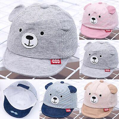 Hats Rabbit Ear Boys Girls Printed Baseball Cap Sun Caps Baby Hat Accessories