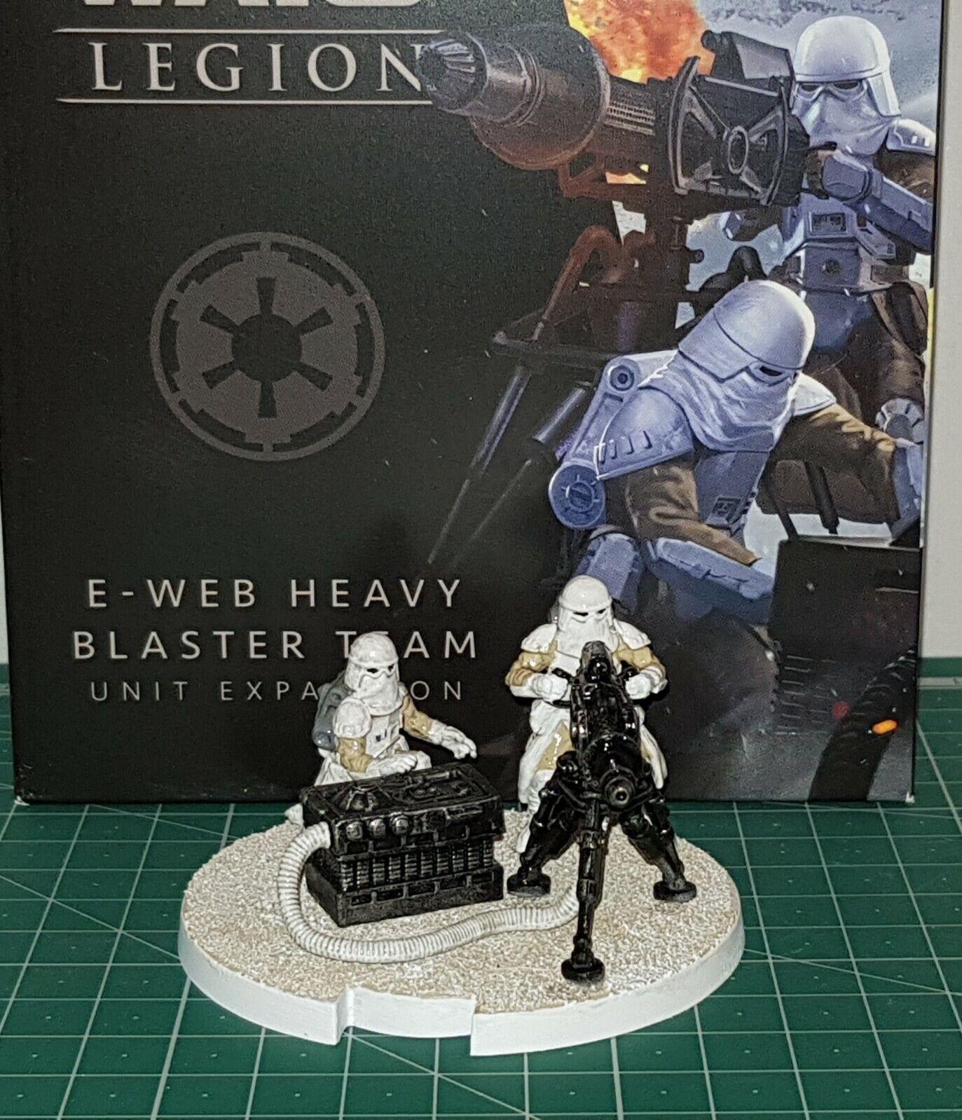 Star wars legion Heavy blaster team, supplied painted