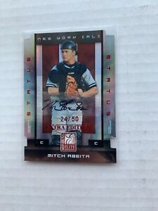 2008-Donruss-Elite-Extra-Edition-Status-Red-Die-Cuts-50-Mitch-Abeita-75-Auto