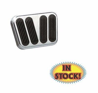 Lokar BAG-6168 Billet Aluminum Curved Manual Brake//Clutch Pad with Rubber Pair