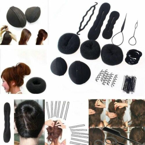 Women Magic Braiders Hair Twist Styling Clip Stick Bun Maker Braid Tool Set YRDE