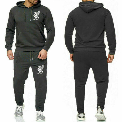 Liverpool Men/'s Tracksuits Hoodies Jogging Sweatshirts Pants Sportswear Solid