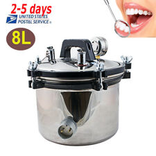 Portable Dental Steam Autoclave Sterilizer Sterilization Lab Equipment 110220v