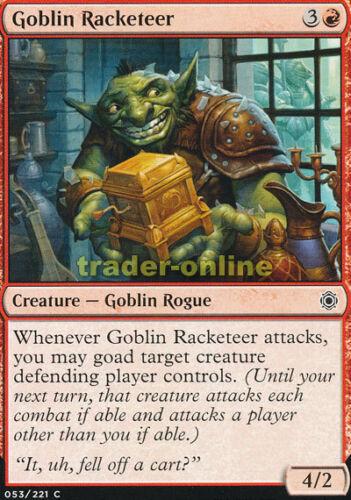 Conspiracy take the Crown Magic 4x GOBELIN racketeer GOBELIN racketeer