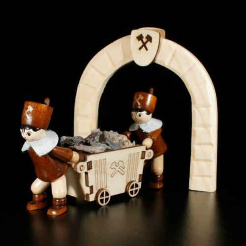 Hunt Lore Mundloch Hammer und Schlegel Miniaturen Holzkunst Bergmann Figuren