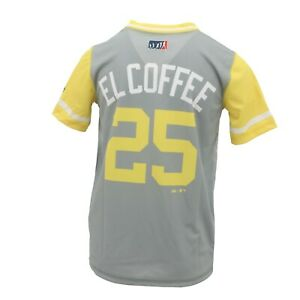 quality design 2f62f d6f84 Details about Pittsburgh Pirates MLB Genuine Youth Size Gregory Polanco  Jersey-Style T-Shirt