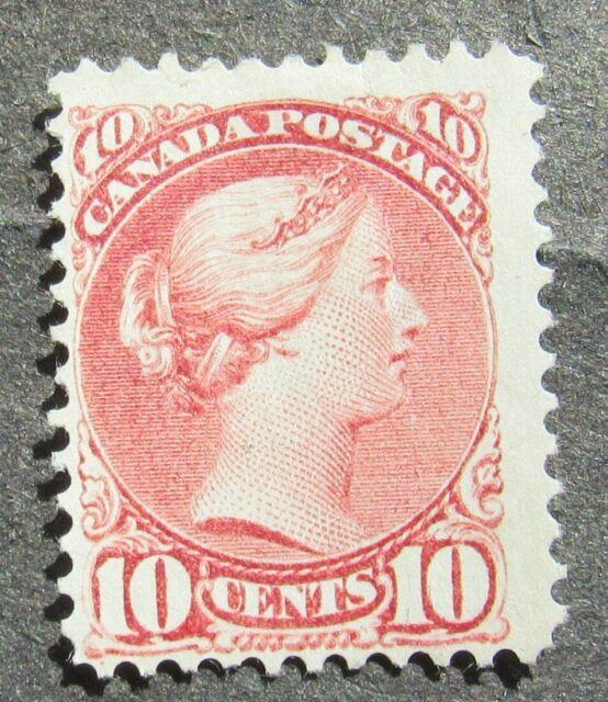 Canada 1870 10C Queen Victoria gez 12 lila-rose, Mi #31aA MNG