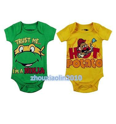 Baby boys bodysuit one-piece baby summer clothes bodysuit Boy outfit 0-12Months