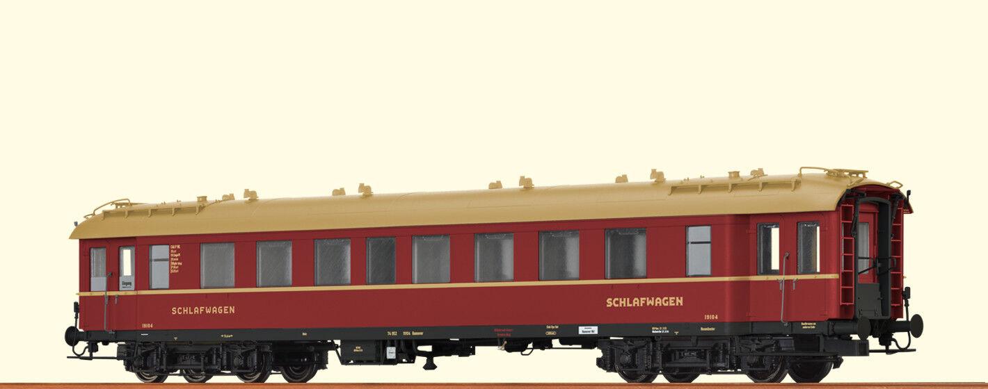 Brawa 46168 gauge H0 Sleeper c4üpwl DSG , III DC