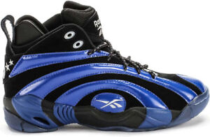 1f67d34da5964c Reebok Men s Shaqnosis OG NEW AUTHENTIC Black Blue White V51848