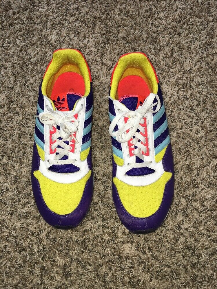 Adidas 3 Stripes Multicolor sneakers size 12 Euc