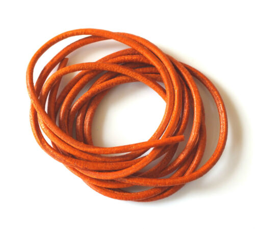 100/% NATURAL 1.3mm LEATHER CORD THONG THREAD FOR NECKLACE JEWELLERY ETC GRIFFIN