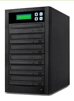 Copystars Lite Cd Dvd Duplicator 1- 5 24x Sony Burner +usb Port Disc Copy Tower