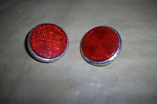 68-71 YAMAHA DT1 DT250 CT1 AT1 DT Ahrma RT1 REAR BRAKE TAILLIGHT reflectors OEM