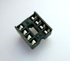 Support socket pour circuit intégré 8 broches DIP - 8 pins support for IC