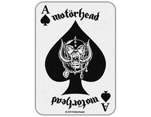 OFFICIAL-LICENSED-MOTORHEAD-ACE-OF-SPADES-CARD-IRON-SEW-ON-PATCH-METAL-LEMMY