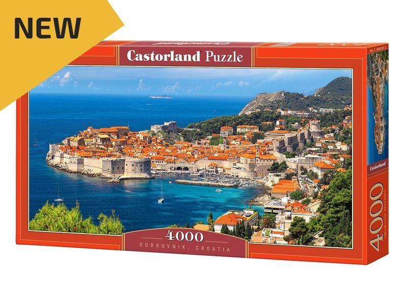 Castorland Puzzle 4000 Pieces - Dubrovnik, Croatia - 54 x27  Sealed box C-400225