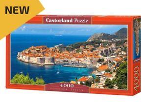 "Castorland Puzzle 4000 Pieces - Dubrovnik, Croatia - 54""x27"" Sealed box C-400225"
