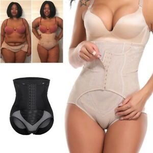 0e900e44e3c3 Image is loading Women-Slimming-Body-Shaper-High-Waist-Tummy-Control-