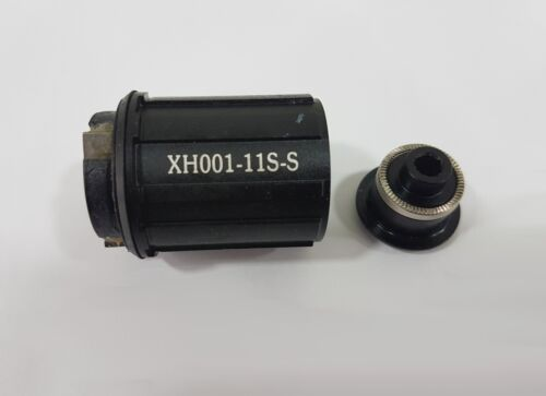 Xentis HG 15 Squad//16XBL Freehub Body with Steel Bearings for XH001 Hub