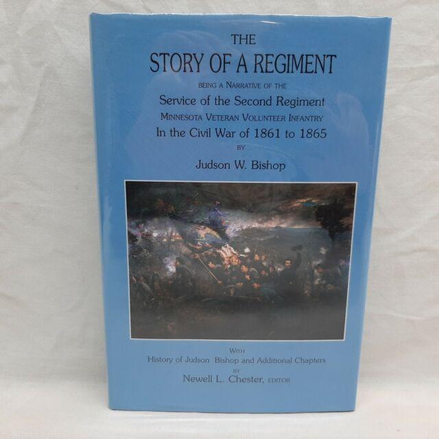 The Story of a Regiment by Judson Bishop 2nd MN Volunteers Civil War HC DJ 1st