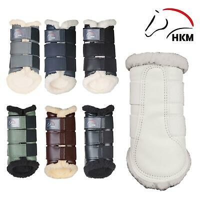 HKM Colourful Anatomical Comfort Equestiran Brushing Protecting Boots MPN 4189