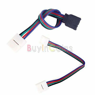 Wholesale 4Pin 2 Way Connector Cable Adapter to Female Adapter For RGB LED Strip