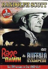 Rage at Dawn Buffalo Stampede DVD 2004 Randolph Scott Double Feature