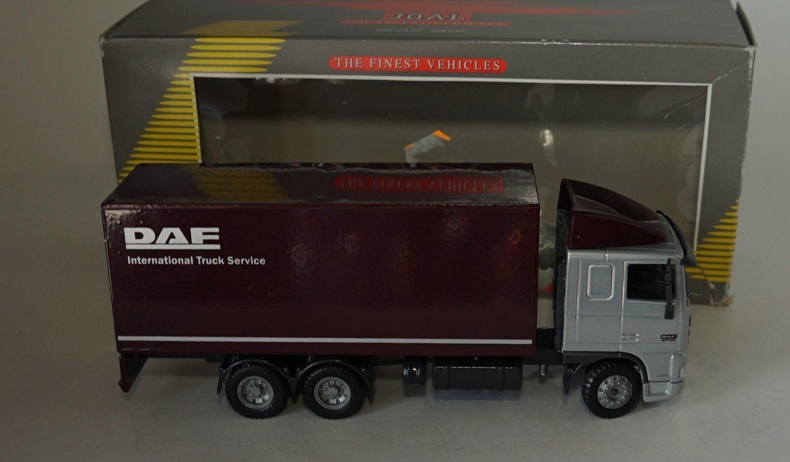 JOAL 354 DAF 95XF BOX VAN en échelle 1 50