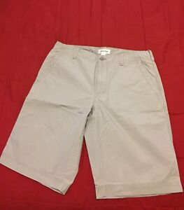 220cfce2f255 Image is loading Men-s-Calvin-Klein-Gray-Flat-Front-Shorts-