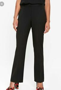 hot sale classic styles new york 44# Wallis Women's Petite Black Bar Trim Bootcut Trouser size 14 ...