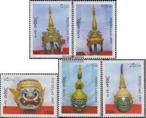 Laos-1607-1611-kompl-Ausg-postfrisch-1997-Theaterkronen