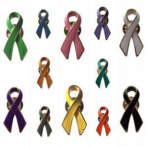 NEW 2019 Fashion Jewelry Yellow Ribbon Awareness Cancer Enamel Pin Badge Brooch