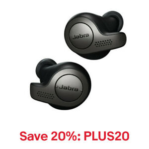 Jabra Elite 65t Wireless Earbuds (Manufacturer Refurbished), 20% off: PLUS20