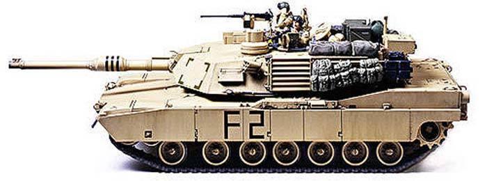 Tamiya 1 35 M1A2 Abrams 120mm Gun Battle Tank 35269