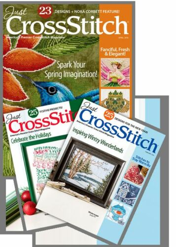 avec bon marché dans le monde entier livraison! Out of Print Nouveau Just cross Stitch MAGAZINE Choisir