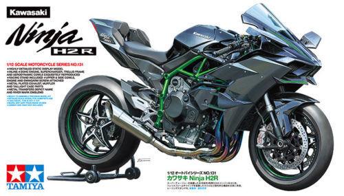 Kawasaki Ninja H2R - 1 12 Bikes - Tamiya 14131