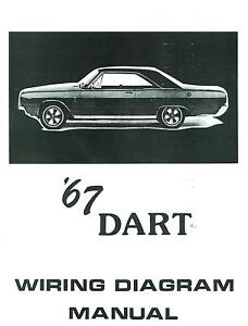 1967 67 dodge dart wiring diagram manual ebay rh ebay com 2004 Dodge Dakota Electrical Schematic Schematic Circuit Diagram