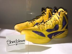Nike Zoom Hyperfuse Lamar Odom Lakers PE Size 11 100% Authentic