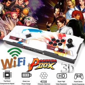 US boîte de Pandore 2D/3D double Bâton Jeu d'arcade Machine Arcade Console De Jeu Nouveau