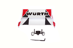 Carrera-Digital-124-Kleinteile-85538-fuer-Ford-Capri-Wuerth-Zakspeed-No-2