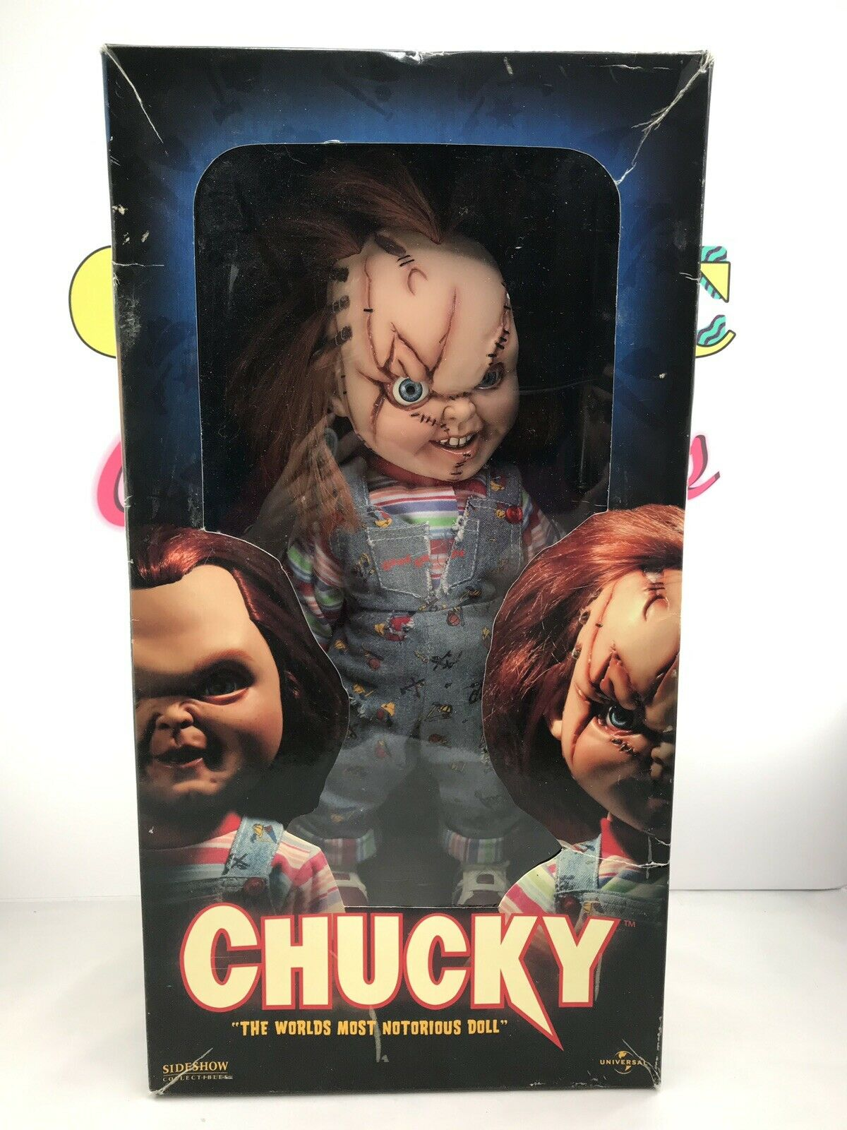 "Sideshow Collectibles Bride Of Chucky  Chucky Doll""World's Most Notorious Doll"""