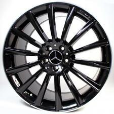 18x85 Gloss Black S63 Amg Rims Wheels Mercedes Benz C300 Gle350 E350 Glc Gls