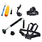 Head Chest Mount Car Suction Monopod Accessories For GoPro 1 2 3 3+ 4 SJ Camera